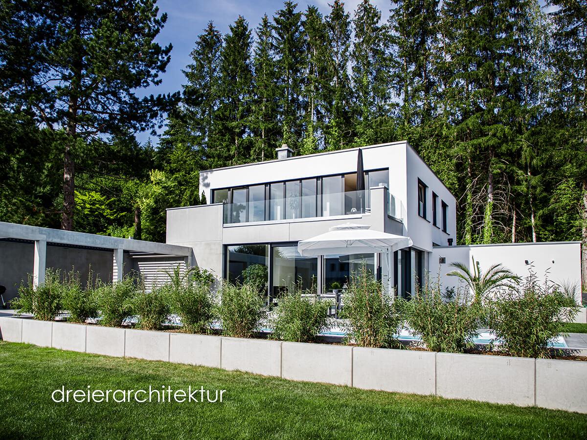Wohngebäude Dreier Architektur - Elektro Kronawitter